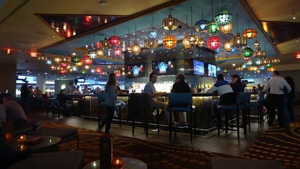 En aften sammen med GRS på Luxor, her fra baren.