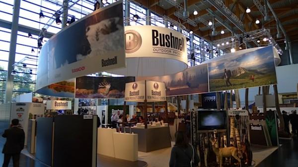 Bushnell med masse forskjellig optikk og utstyr
