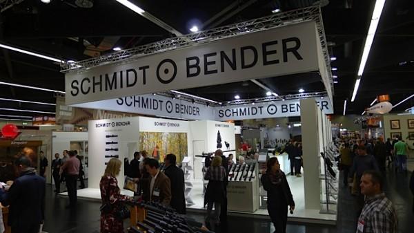 Schmidt & Bender stand