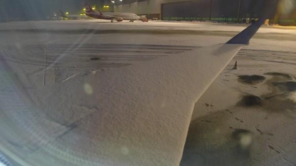 Snø i Nürnberg = forsinkelser med fly