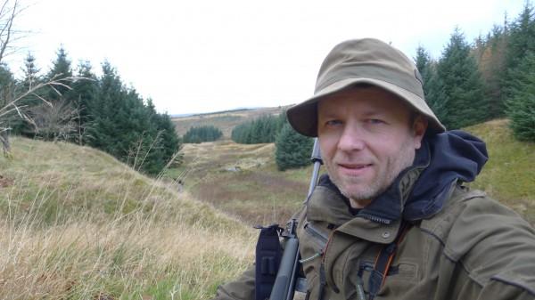 Søndag ettermiidag og første økt med jakt