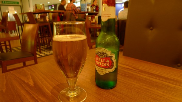Hvor jeg innvilget meg min første øl på turen