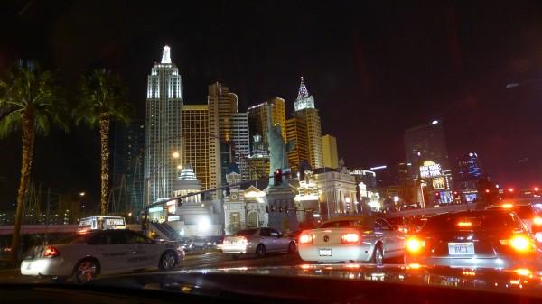 "Begynnelsen på ""The Strip"" med NY, NY"