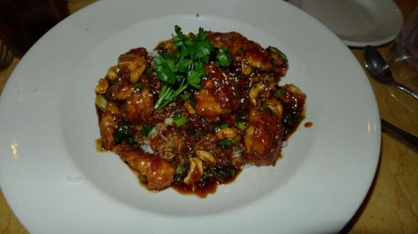 Spicy Cashew Chicken, anbefales!