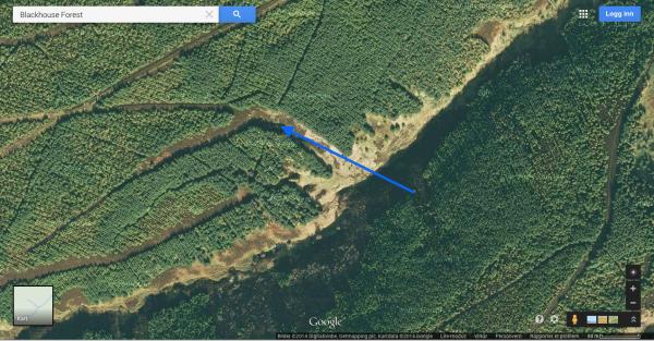 Her kom det to geiter ut. 6 klikk i høyde og pang. Geita gikk ikke en meter. Den andre forlot stedet som et olja lyn...