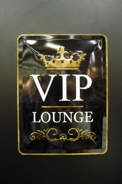 Med egen VIP lounge