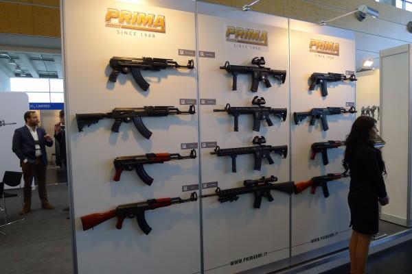 AK i flere varianter