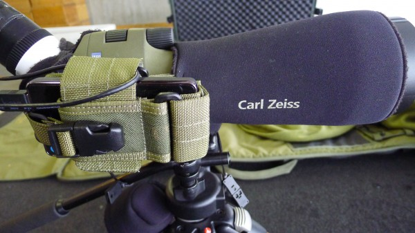 Zeiss spotter med batteripakke? Hva er nå dette...