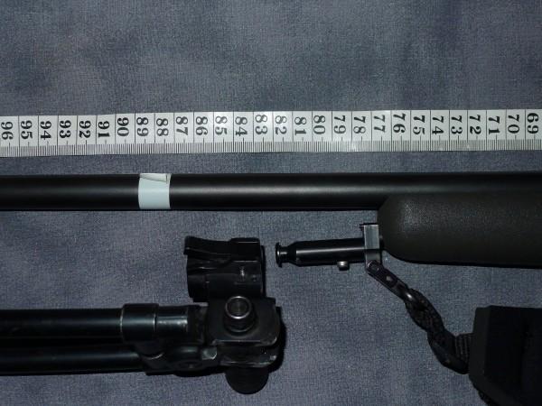Samtidig på min. krav fra myndigheter overholdes. Min 84cm på våpen
