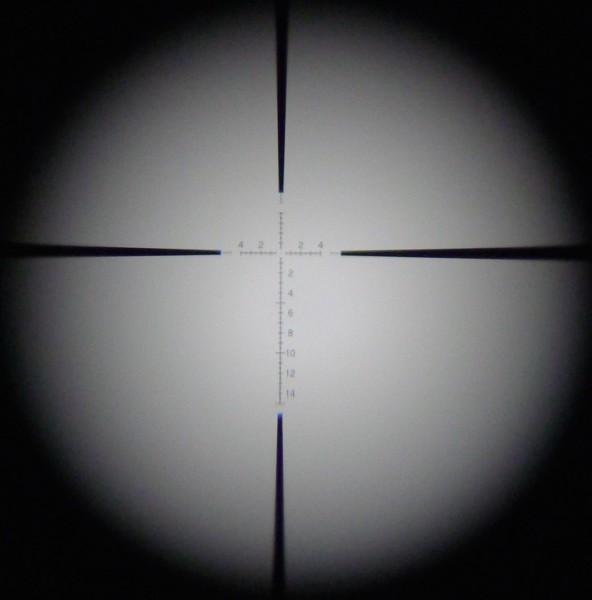Retikkel ved 3X (dårlig bilde)