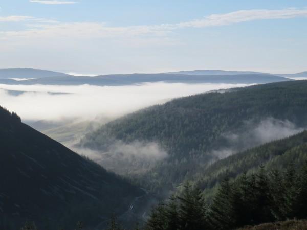 Utsikt fra toppen på Blackhouse