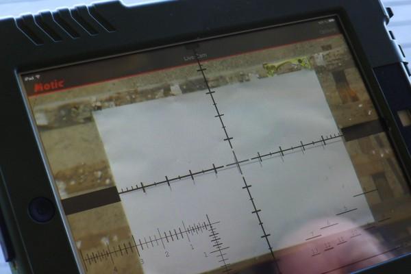Hvor iPad'n har fått PMII MSR retikel