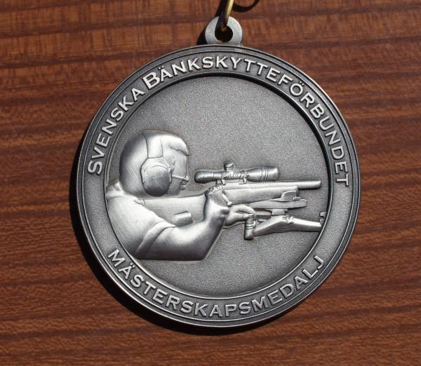Nærbilde av medaljen