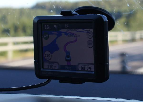 Kom oss avgårde 1745, og GPS sier hjemme 0425. Legg merke til at vi kjører pent! 110km/t som tillatt og ifgl gps. Snille gutter på tur.