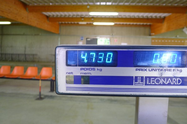 LV klassen = 4.76kg jeg har 30 gram tilgode