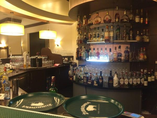Baren på Sobieski, hotellet mitt