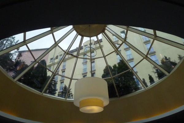 Kuppelen i frokostsalen