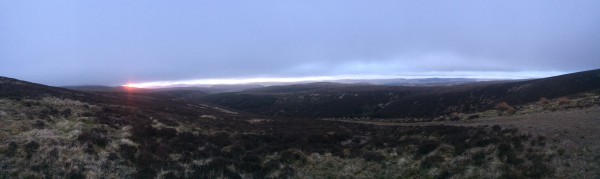 Panorama fra Blackhouse
