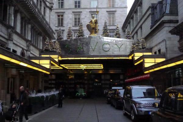 Velkjent hotel: Savoy