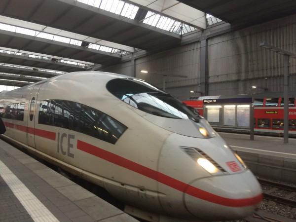 ICE tog, bygget for fart og spenning
