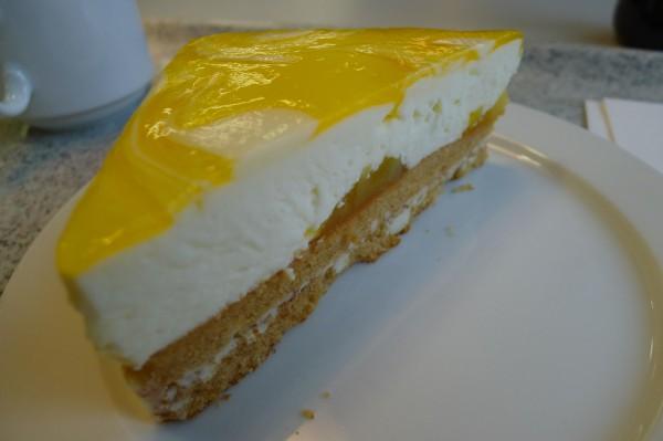 For første gang under alle disse årene hadde jeg dessert også. Hvorfor har jeg ikke smakt den tidligere? Knallgod!