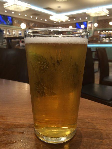 Levert leiebilen. check inn og tid for min 1. øl på turen