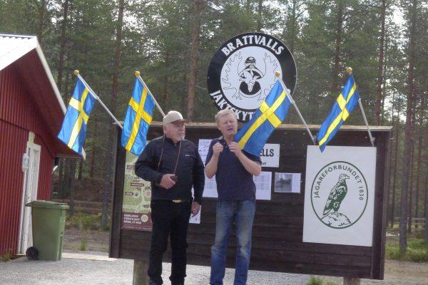President i Europa JC & og Sverige's forbundsleder Torsten åpner stevne
