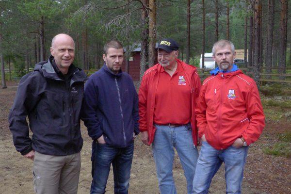 Team Norway: Fredrik, Roy Arne, Krister og Geir. Vel gjennomført gutta!
