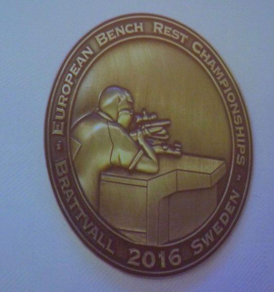 Medaljen fra EM
