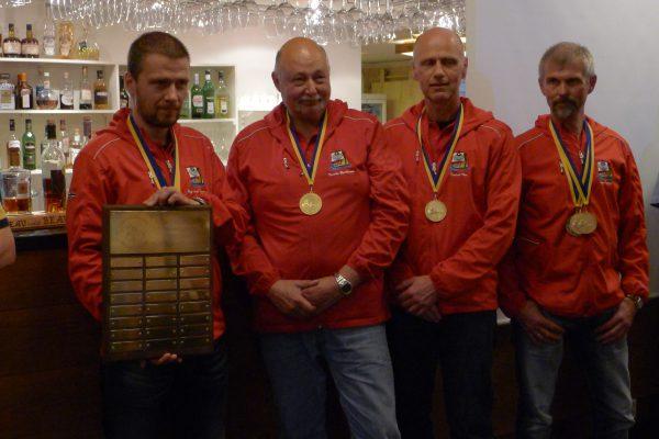 Team Norway tok laggull som besto av Roy Arne, Krister, Fredrik og Geir. Meget godt gjennomført gutta
